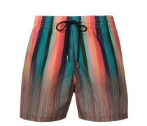 signature stripe swimming shorts