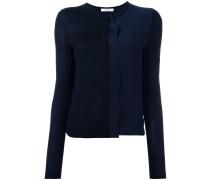Pullover mit Volant - women - Seide/Schurwolle