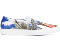 Slip-On-Sneakers mit Surf-Print