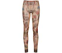 Leggings mit Tattoo-Print
