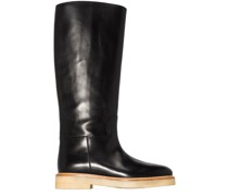 30mm knee-high leather boots