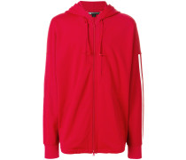 zipped hoodie