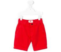 Chino-Shorts mit Umschlag - kids - Baumwolle