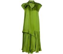 Gerades Kleid mit Schleifenkragen