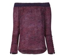 - Schulterfreie Bluse mit langen Ärmeln - women