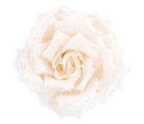 Blumenbrosche im Oversized-Look
