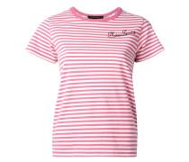 - T-Shirt im Patchwork-Look - women - Baumwolle