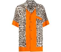 P.A.R.O.S.H. Hemd mit Leoparden-Print