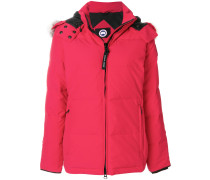fur-trim padded jacket