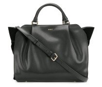 slouched cross-body tote