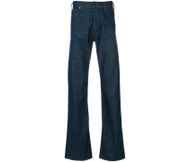 Weite Bootcut-Jeans