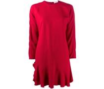 Kleid mit Kontrastkragen