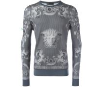 'Lenticular Foulard' Pullover