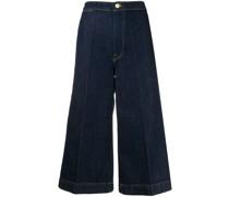 'Le Culotte' Cropped-Jeans