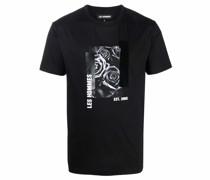 T-Shirt mit Rosen-Print