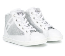 """High-Top-Sneakers mit """"H""""-Logo"""