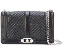Core Quilted Love crossbody bag - women - Leder