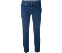 'Capri' Jeans - women - Baumwolle/Elastan - 26