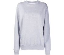 Sweatshirt mit eingeprägtem Logo