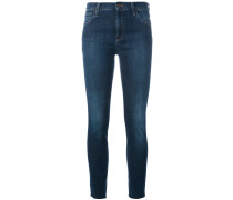 Skinny-Jeans mit Stickerei - women