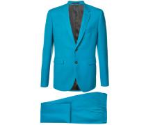notched lapel two-piece suit - men