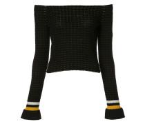 Schulterfreier 'LS' Pullover - women