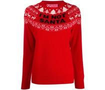 'I'm Not Santa' Pullover