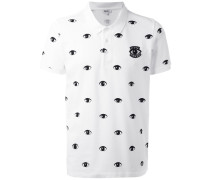 'Eyes' Poloshirt - men - Baumwolle - S