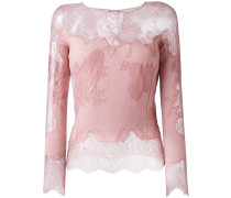 lace longsleeved blouse