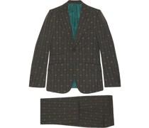 'Heritage' Anzug mit GG-Streifen