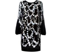 Kleid mit Kreis-Print