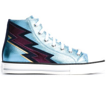 Sneakers mit Blitz-Patch