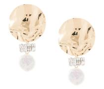 Goldohrringe mit Perlen