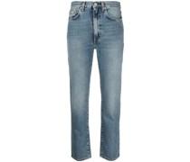Jeans mit verdrehtem Design