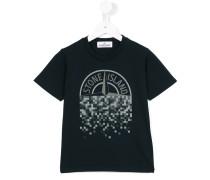 T-Shirt mit Logo-Print - kids - Baumwolle - 4 J.