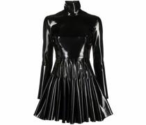 Kleid aus Faux-Leder