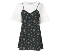 T-Shirt-Kleid im Lagen-Look