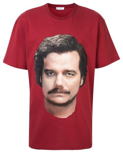 T-Shirt mit Escobar-Print