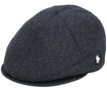 panelled flap cap