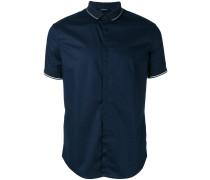 Hemd mit Polokragen - men - Baumwolle/Elastan