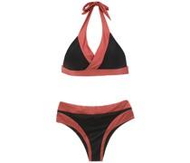Zweifarbiger Bikini