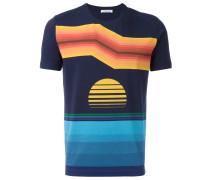 T-Shirt mit Print - men - Baumwolle/Elastan - L