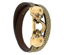 Armband mit Totenköpfen