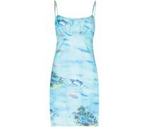 'Bell' Kleid mit Print