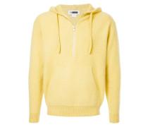 textured hoodie