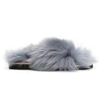 Furry Fantasy Sandalen aus Lammfell