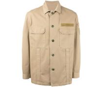Hemd im Military-Look - men - Baumwolle - S
