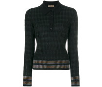 knitted polo neck