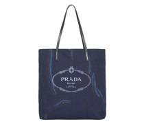 Shopper mit Logo-Print