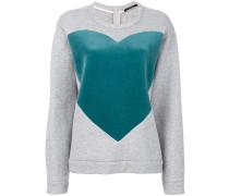 Sweatshirt mit Herz-Print